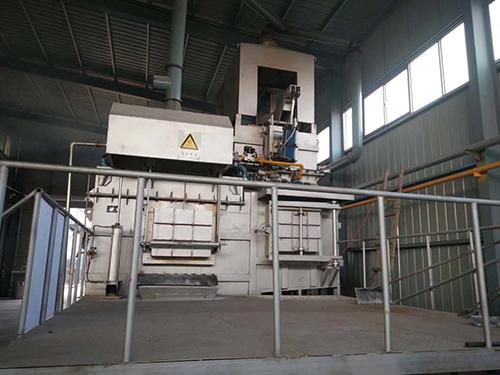 铝合金熔化保温炉